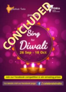 Sing for Diwali Concluded
